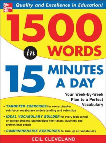 1500 Words in 15 Minutes a Day (Paperback)