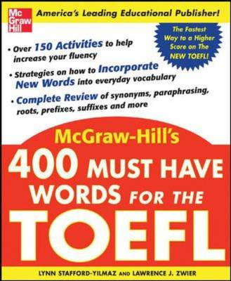 400 Must Have Words for the TOEFL (Paperback)