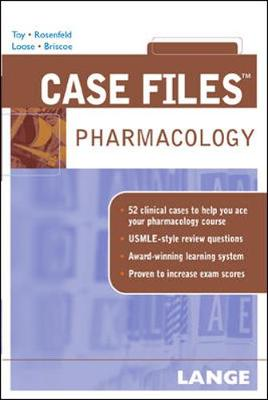 Case Files Pharmacology - Lange Case Files (Paperback)