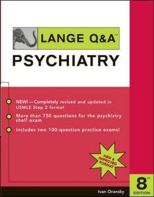 Lange Q&A: Psychiatry - Appleton & Lange Review Book (Paperback)