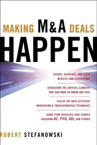 Making M&A Deals Happen (Hardback)