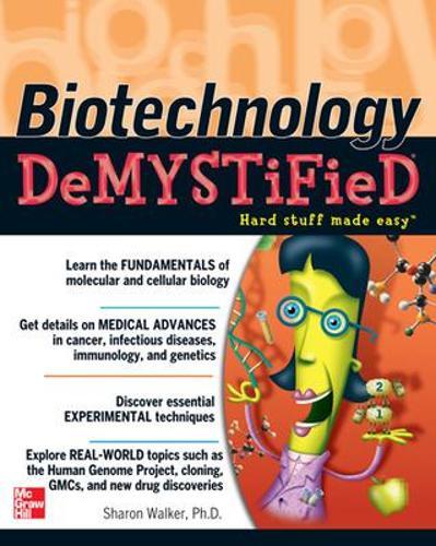 Biotechnology Demystified - Demystified (Paperback)