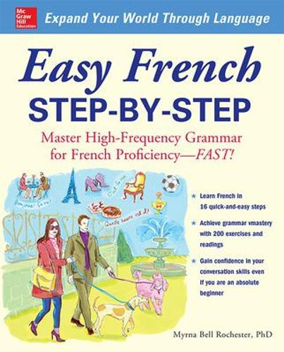 Easy French Step-by-Step (Paperback)