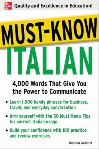 Must-Know Italian (Paperback)
