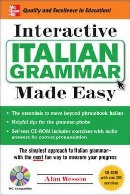 Italian Grammar Made Easy - Grammar Made Easy (Paperback)