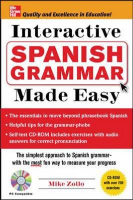 Spanish Grammar Made Easy - Grammar Made Easy (Paperback)