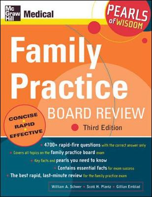 Family Practice Board Review: Pearls of Wisdom (Paperback)