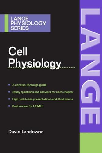 Cell Physiology - LANGE Physiology Series (Paperback)