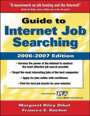 Guide to Internet Job Searching 2006-2007 (Paperback)