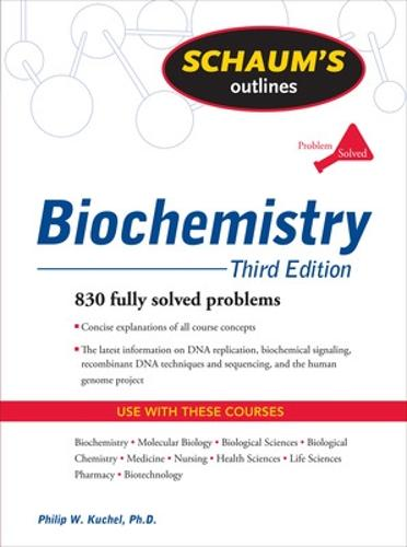 Schaum's Outline of Biochemistry, Third Edition (Paperback)