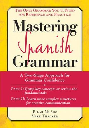Mastering Spanish Grammer (McGraw-Hill Edition) (Paperback)