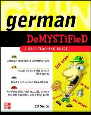 German Demystified: A Self Teaching Guide - Demystified (Paperback)