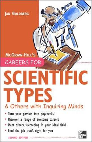Careers for Scientific Types & Others with Inquiring Minds - Careers For Series (Paperback)