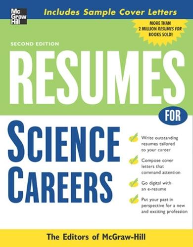 Resumes for Science Careers (Paperback)