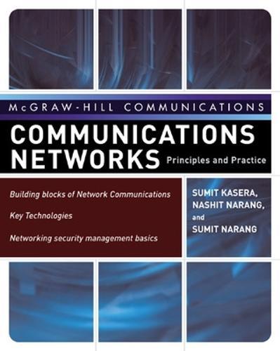 Communication Networks (Hardback)