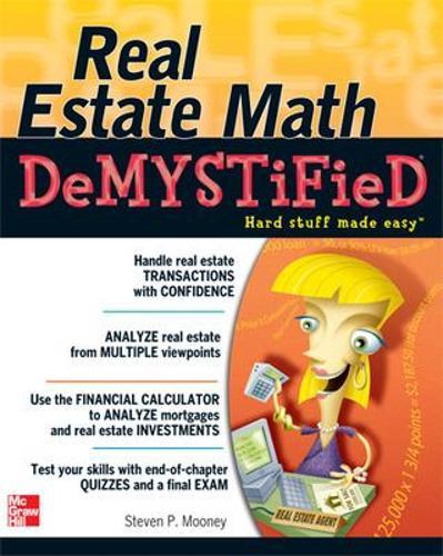 Real Estate Math Demystified - Demystified (Paperback)
