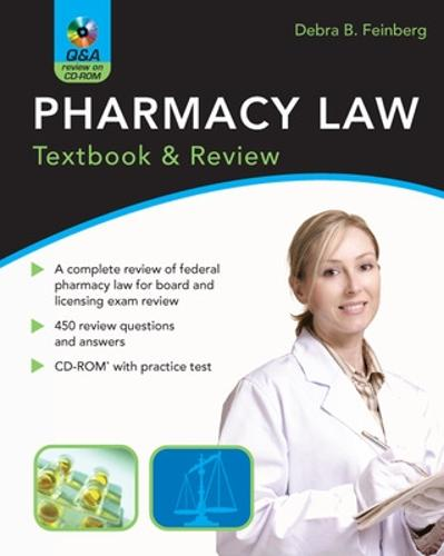 Pharmacy Law: Textbook and Review (Paperback)