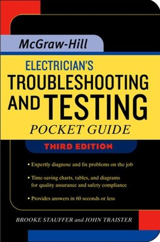 Electrician's Troubleshooting and Testing Pocket Guide, Third Edition (Paperback)
