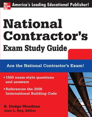 National Contractor's Exam Study Guide (Paperback)