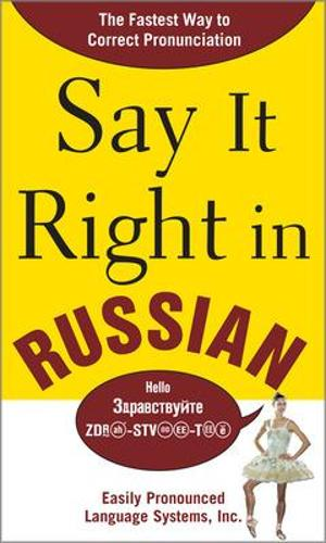 Say It Right in Russian (Paperback)
