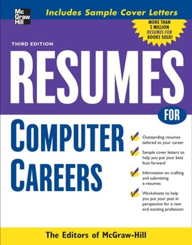 Resumes for Computer Careers (Paperback)