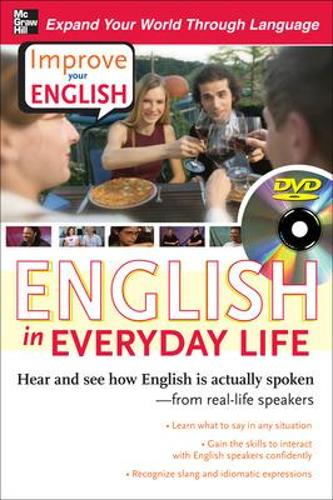 Improve Your English: English in Everyday Life (DVD w/ Book) (Book)