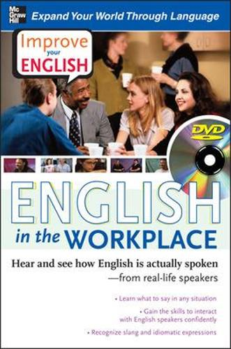 Improve Your English: English in the Workplace (DVD w/ Book) (Book)