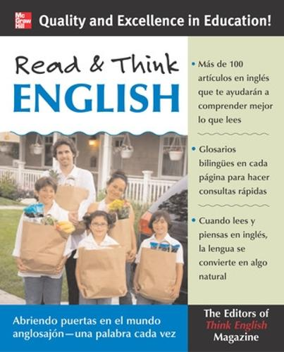 Read and Think English (Paperback)