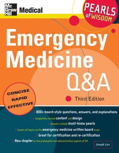 Emergency Medicine Q&A: Pearls of Wisdom - Pearls of Wisdom (Paperback)