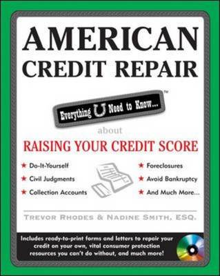 American Credit Repair: Everything U Need to Know About Raising Your Credit Score (Paperback)