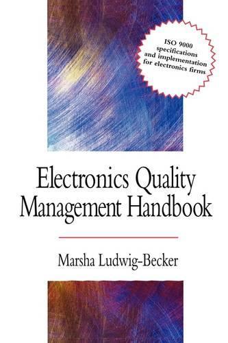 Electronics Quality Management Handbook (Paperback)