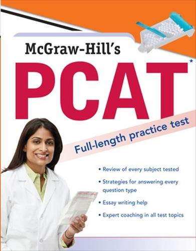 McGraw-Hill's PCAT (Paperback)