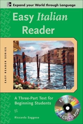 Easy Italian Reader w/CD-ROM - Easy Reader Series (Book)