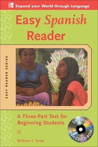 Easy Spanish Reader w/CD-ROM - Easy Reader Series (Book)