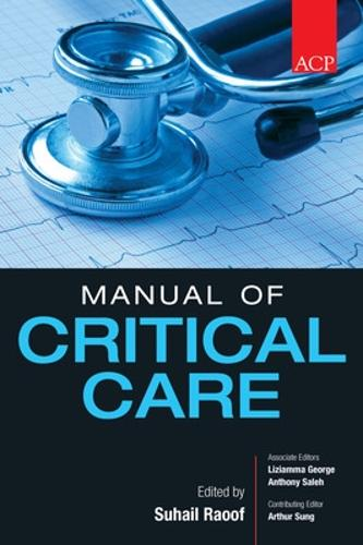 ACP Manual of Critical Care (Paperback)