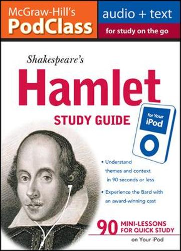 McGraw-Hill's PodClass Hamlet Study Guide (Book)