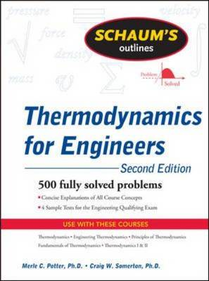 Schaum's Outline of Thermodynamics for Engineers - Schaum's Outline Series (Paperback)