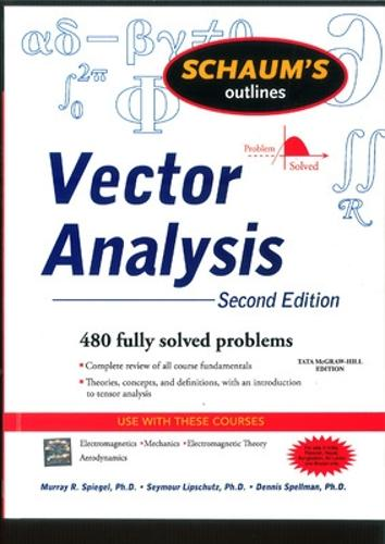 Schaum's Outline of Vector Analysis - Schaums' Outline Series (Paperback)