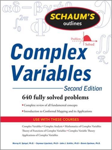 Schaum's Outline of Complex Variables, 2ed (Paperback)