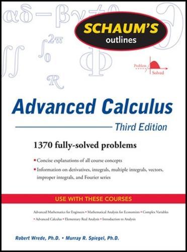 Schaum's Outline of Advanced Calculus, Third Edition (Paperback)