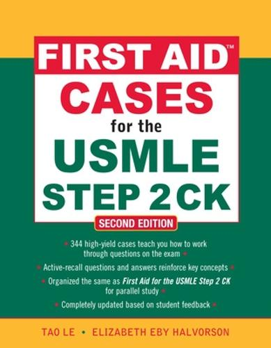 First Aid Cases for the USMLE Step 2 CK, Second Edition (Paperback)