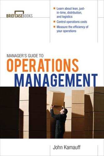 Manager's Guide to Operations Management (Paperback)