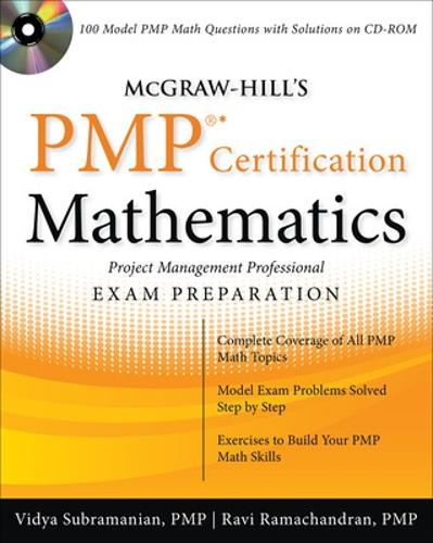 McGraw-Hill's PMP Certification Mathematics with CD-ROM (Book)