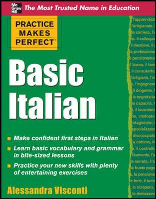 Practice Makes Perfect Basic Italian - Practice Makes Perfect Series (Paperback)