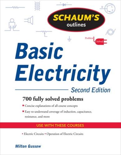 Schaum's Outline of Basic Electricity, Second Edition (Paperback)