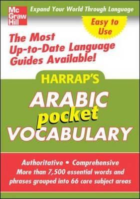 Harrap's Pocket Arabic Vocabulary - Harrap's Language Guides (Paperback)