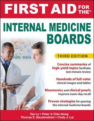 First Aid for the Internal Medicine Boards - First Aid Series (Paperback)
