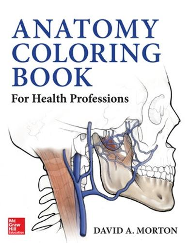 Anatomy Coloring Book for Health Professions (Paperback)