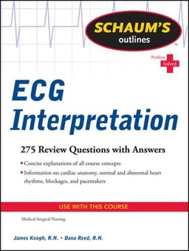 Schaum's Outline of ECG Interpretation (Paperback)
