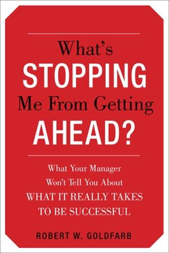 What's Stopping Me from Getting Ahead? (Paperback)